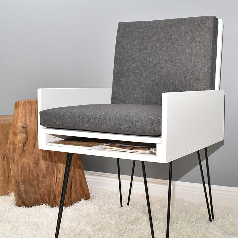 Easy Diy Chair With Hidden Compartment And Book Storage Pdf