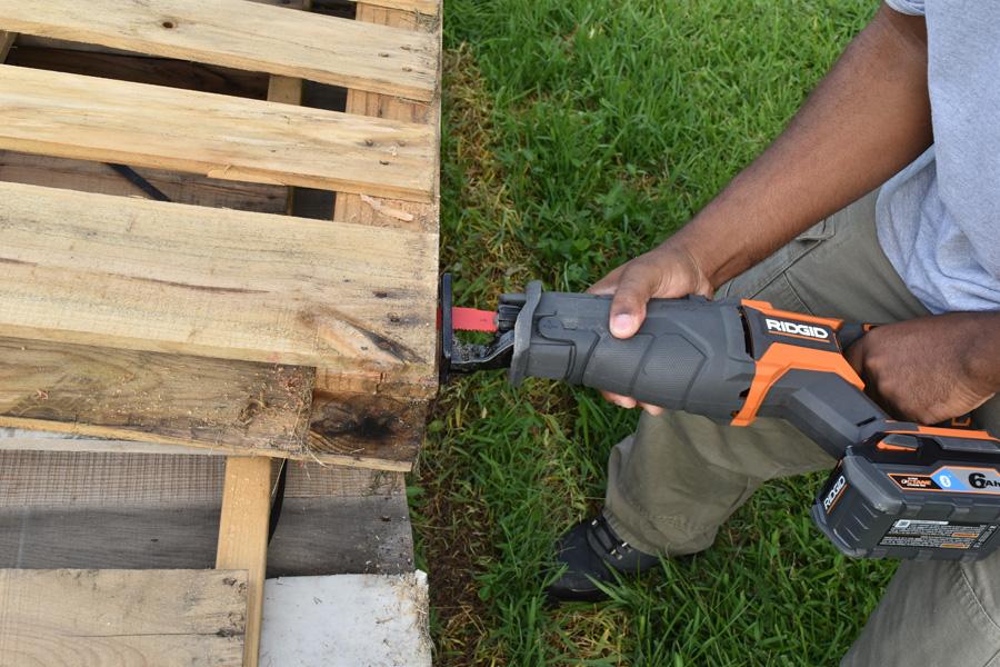 RIDGID Reciprocating Saw