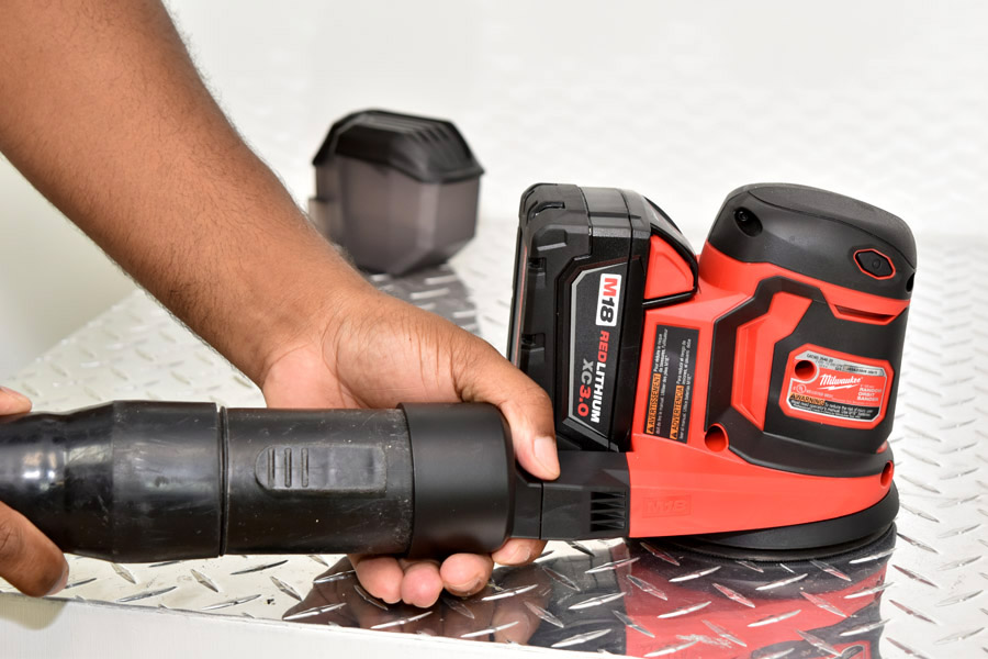 Milwaukee M18 Cordless 5 in. Orbit Sander