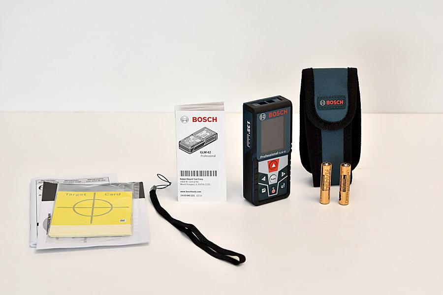 Bosch Blaze GLM full pack