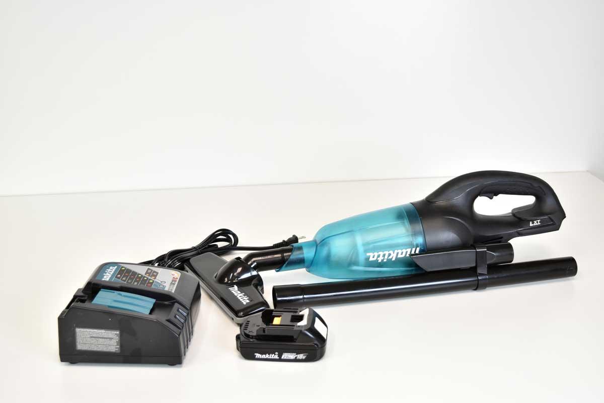 18V Compact Cordless Vacuum