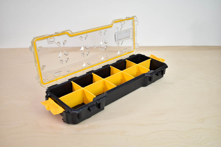 DEWALT DWST14835 10-Compartment Organizer With Removable Dividers