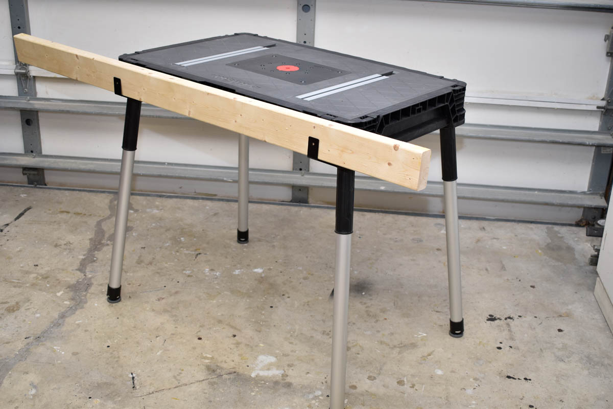 Husky Portable Jobsite Workbench 225047