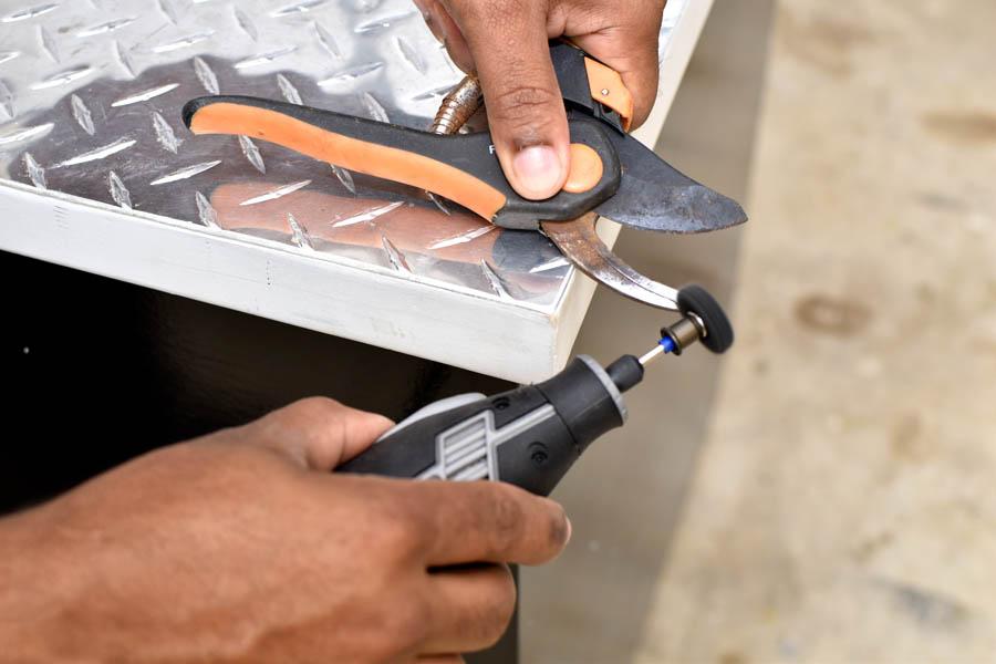 Dremel Rotary tool sharping