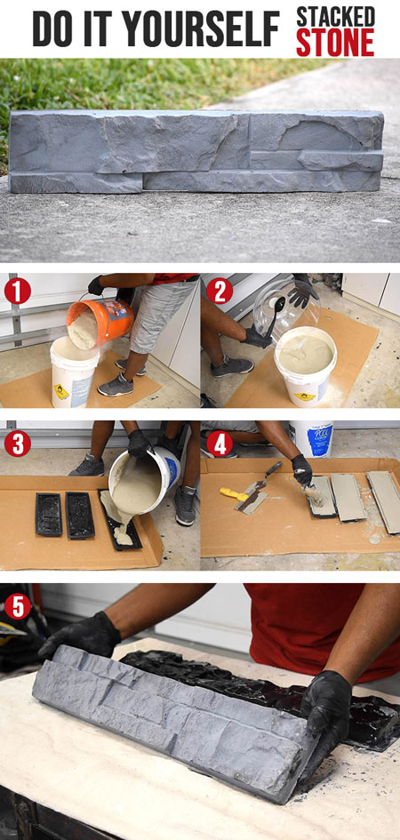 How to make Stacked Stones at home