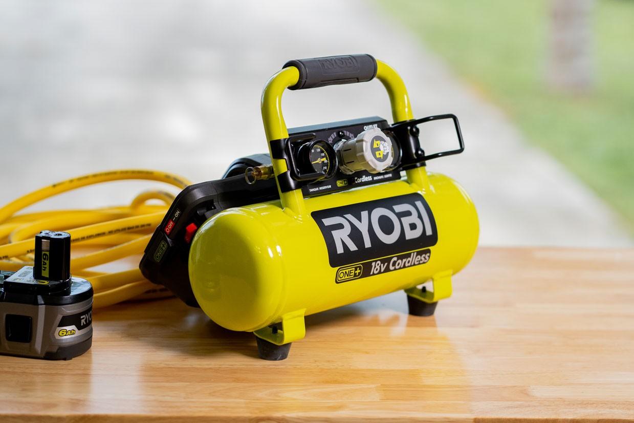 Ryobi Cordless 1 Gal. Portable Air Compressor