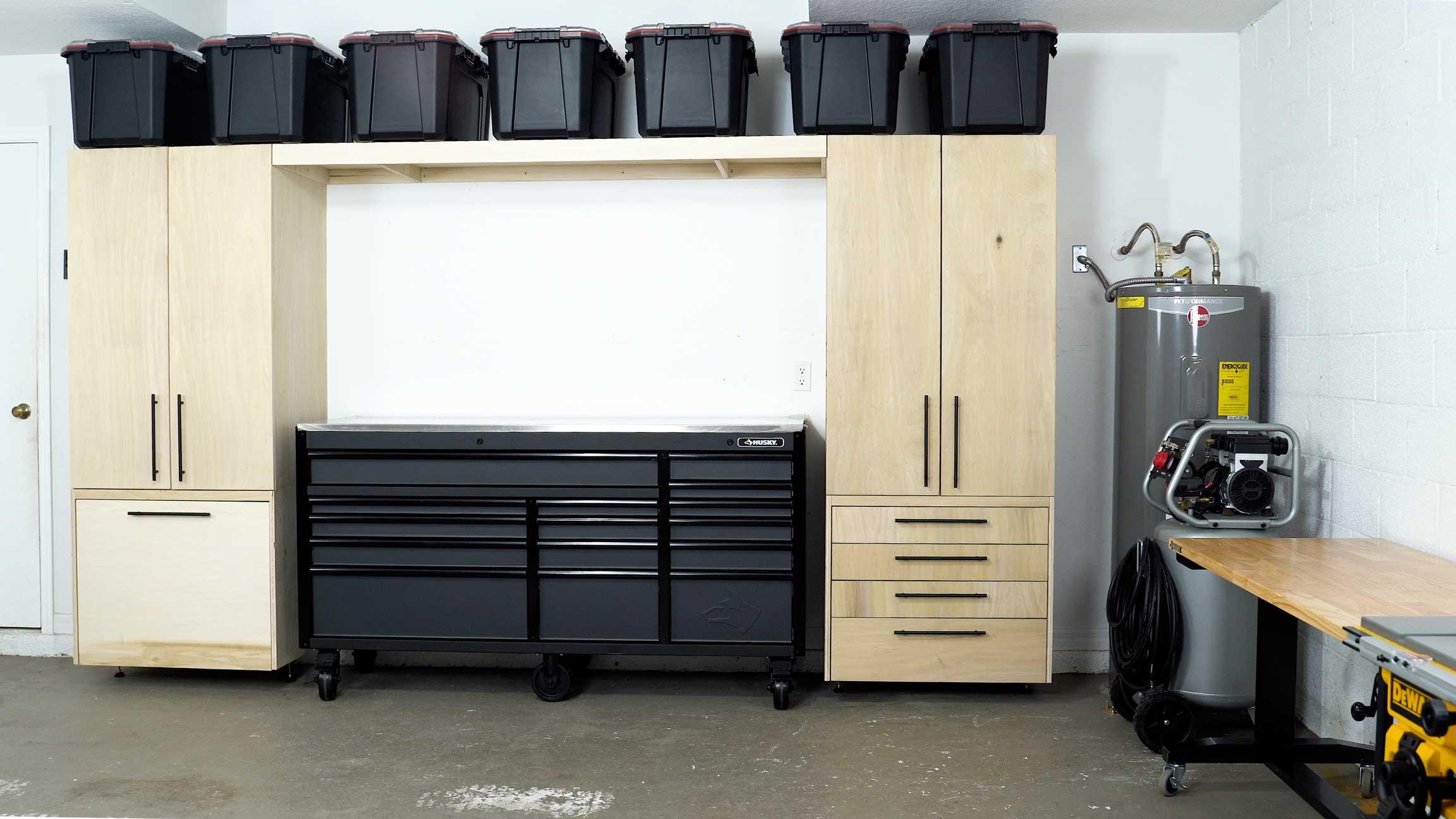 Diy Garage Cabinets And Organization Solutions Diy Creators