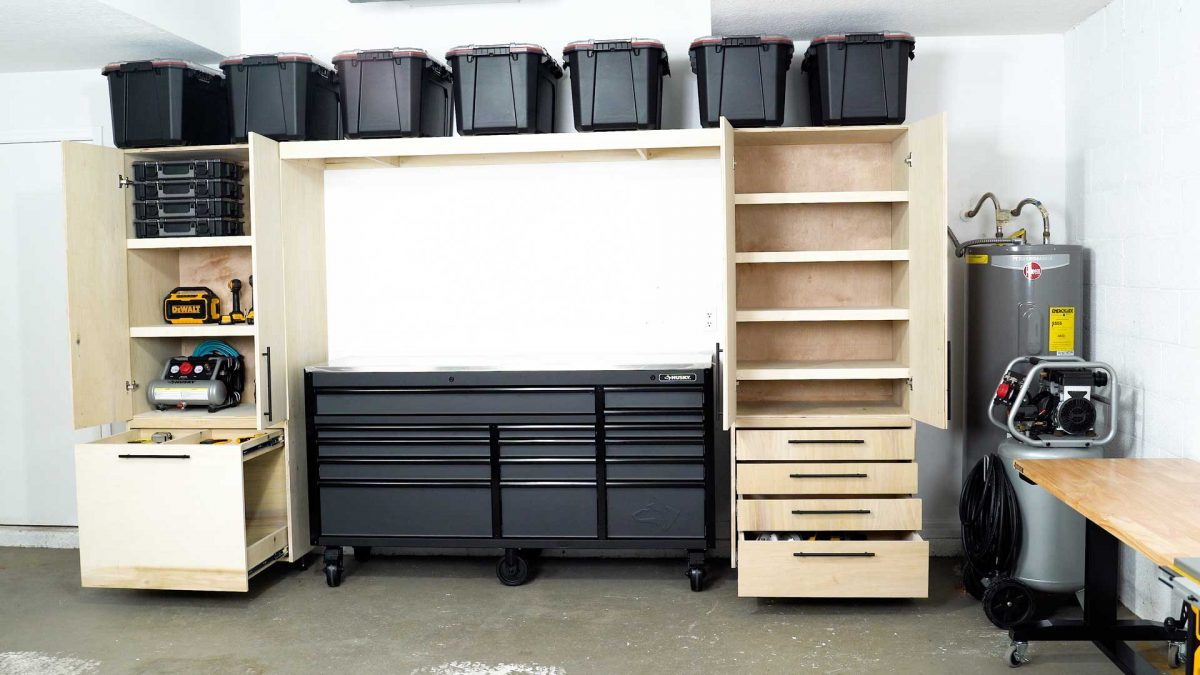 Garage Cabinets Storage Step By Diy Tutorial