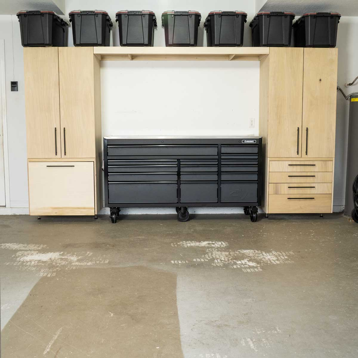 Diy 5 Piece Garage Cabinets And Organization Solutions Creators