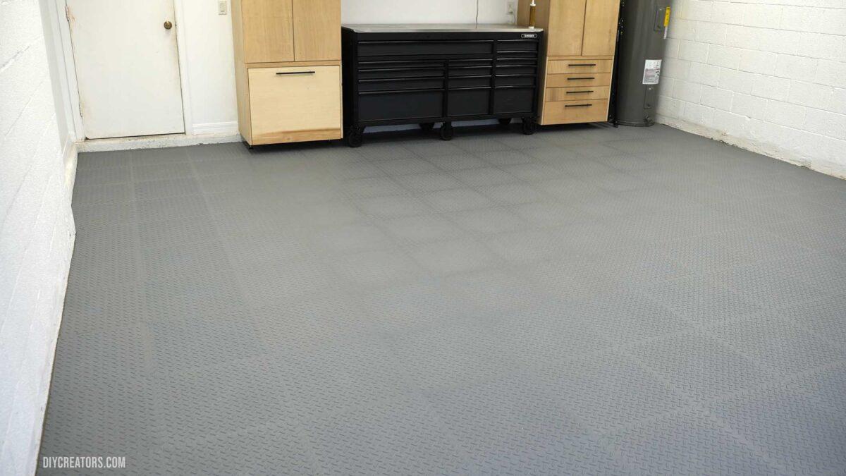 Finished Husky PVC Flooring